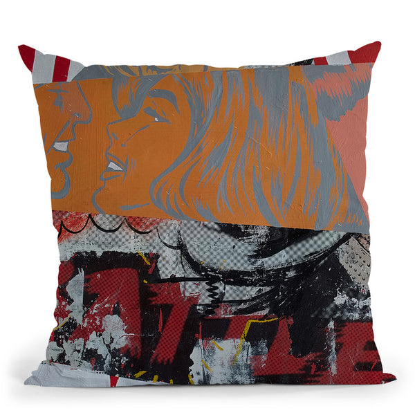 The Battle Throw Pillow By Dan Monteavaro - All About Vibe
