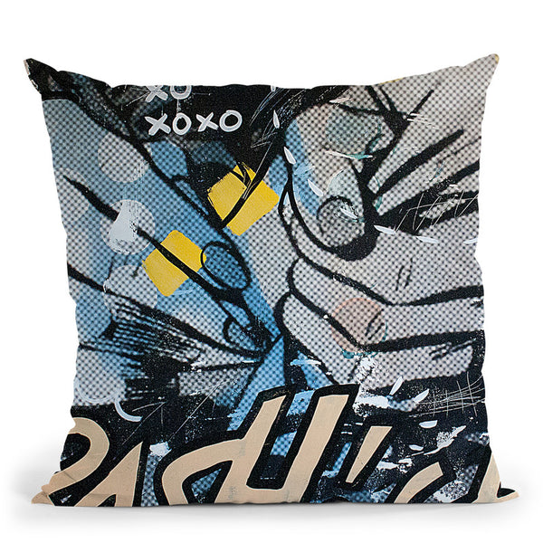 Over And Over 1 Throw Pillow By Dan Monteavaro - All About Vibe