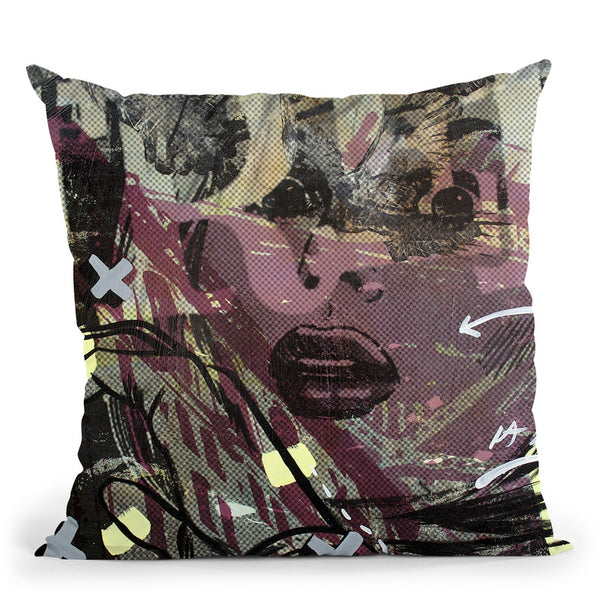 Sometimes Free Throw Pillow By Dan Monteavaro - All About Vibe