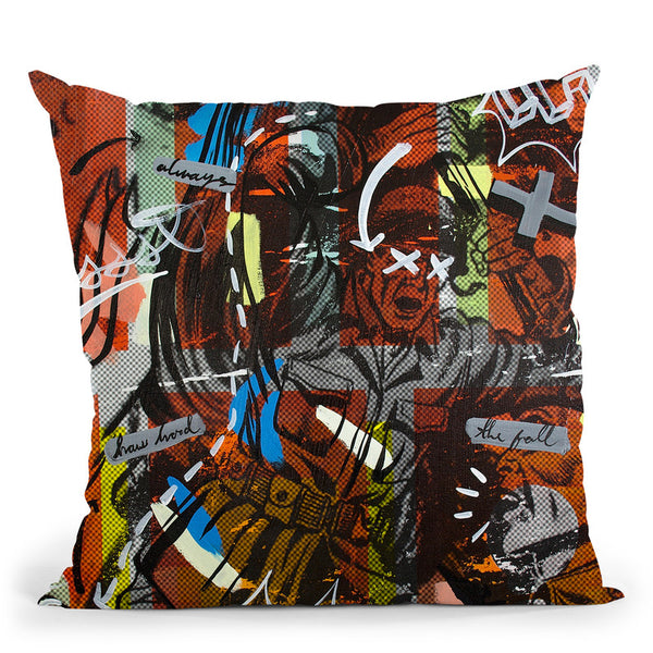 Then The Fall Throw Pillow By Dan Monteavaro - All About Vibe