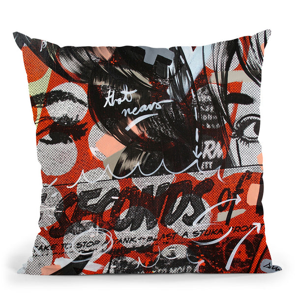 Three Seconds Throw Pillow By Dan Monteavaro - All About Vibe