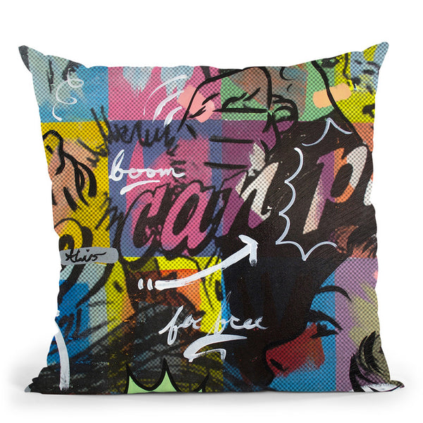 Two Can Play Throw Pillow By Dan Monteavaro - All About Vibe