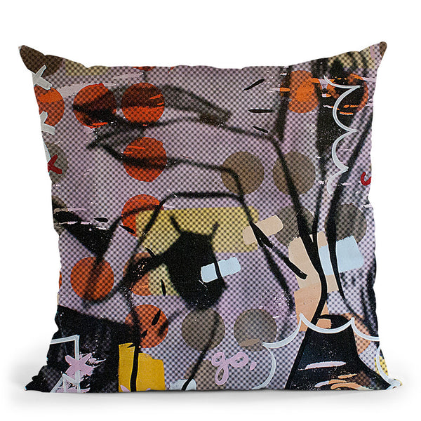 Wait Wait Go 1 Throw Pillow By Dan Monteavaro - All About Vibe