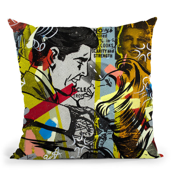 Yes You Throw Pillow By Dan Monteavaro - All About Vibe
