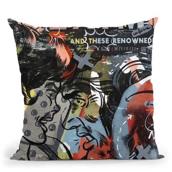 Acclaimed Throw Pillow By Dan Monteavaro - All About Vibe