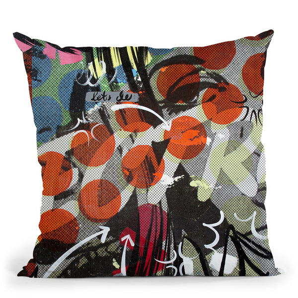 Electric Throw Pillow By Dan Monteavaro - All About Vibe