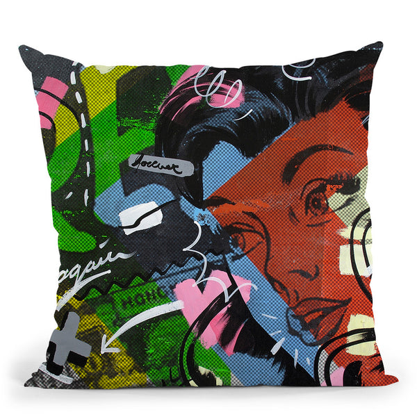 Free Again Throw Pillow By Dan Monteavaro - All About Vibe