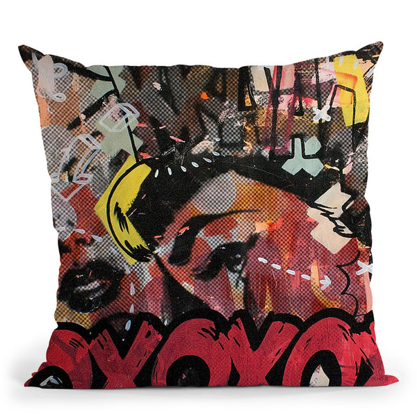 Kraang Throw Pillow By Dan Monteavaro - All About Vibe