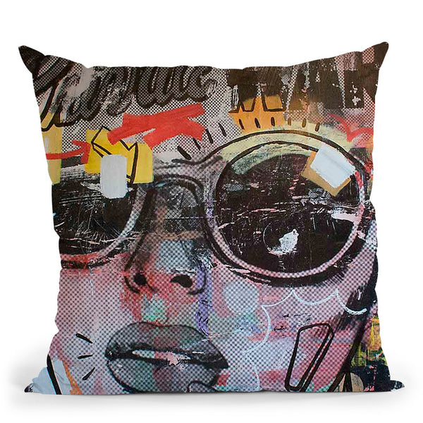 Private War Throw Pillow By Dan Monteavaro - All About Vibe