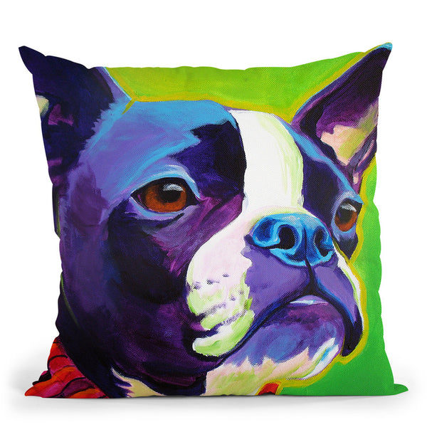 Ridley Throw Pillow By Dawgart - All About Vibe