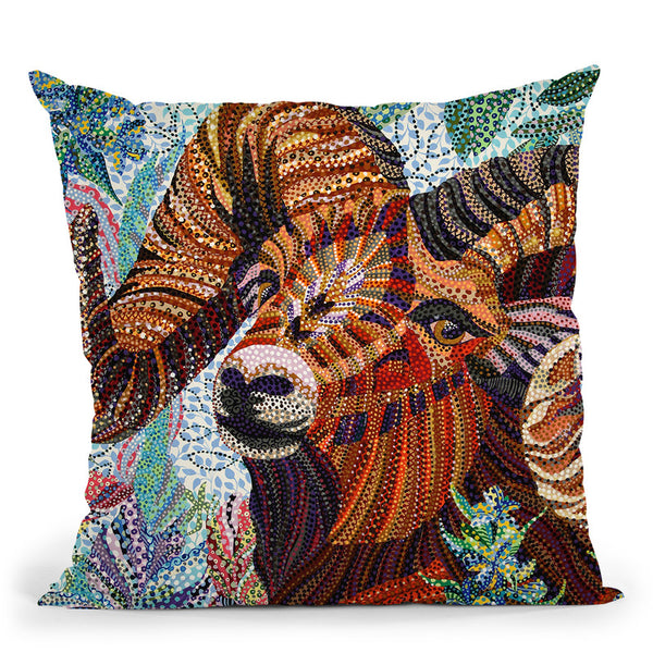 Aries Throw Pillow By Erika Pochybova - All About Vibe