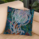 Jelly 5 Throw Pillow By Erika Pochybova - All About Vibe