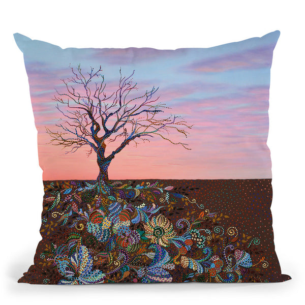 Mindfulness Throw Pillow By Erika Pochybova - All About Vibe