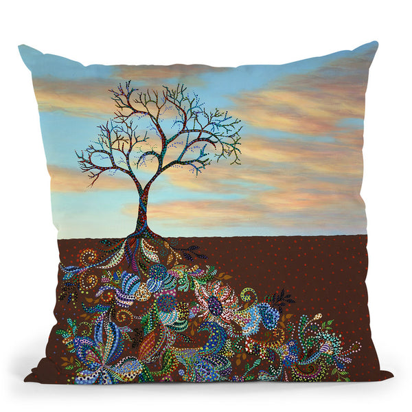 Neither Praise Nor Disgrace Throw Pillow By Erika Pochybova - All About Vibe