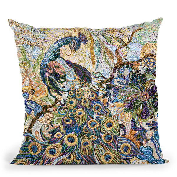 Allurement Throw Pillow By Erika Pochybova - All About Vibe