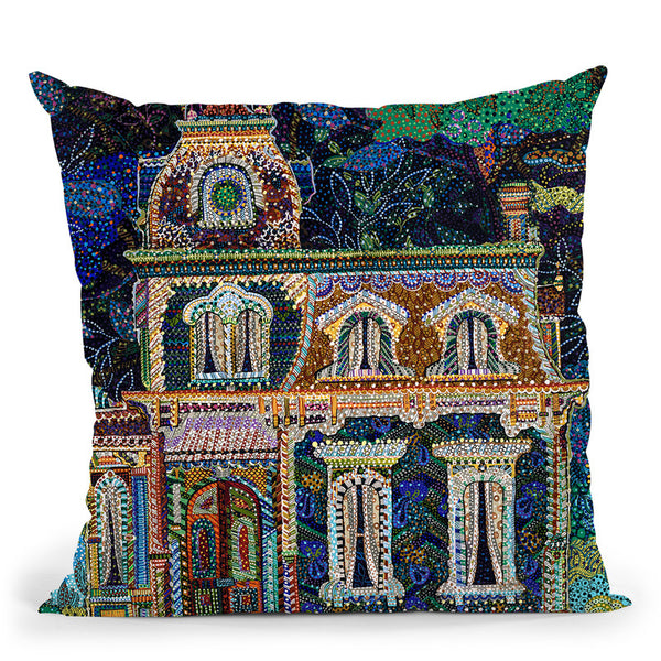 Lights Out Throw Pillow By Erika Pochybova - All About Vibe