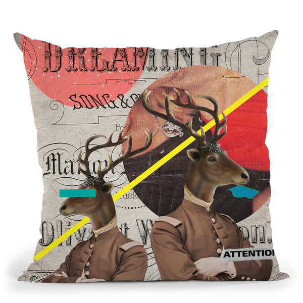 The Guardians Throw Pillow By Elo Marc - All About Vibe