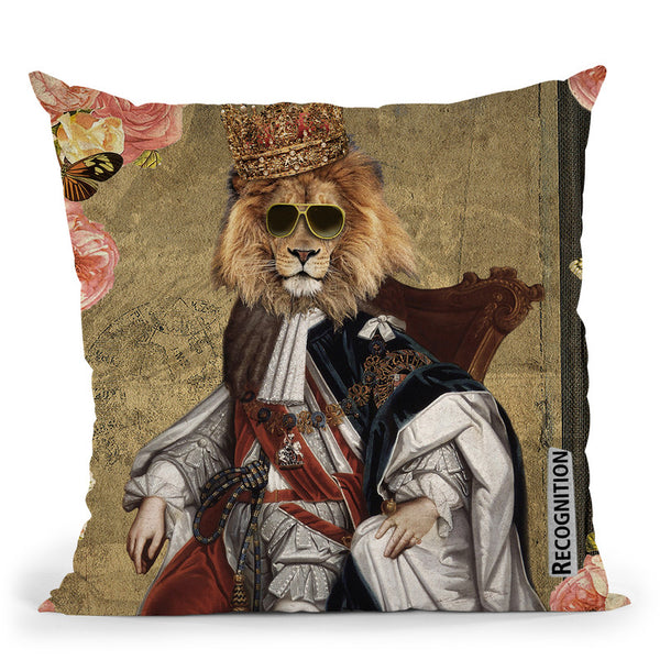 The King Throw Pillow By Elo Marc - All About Vibe