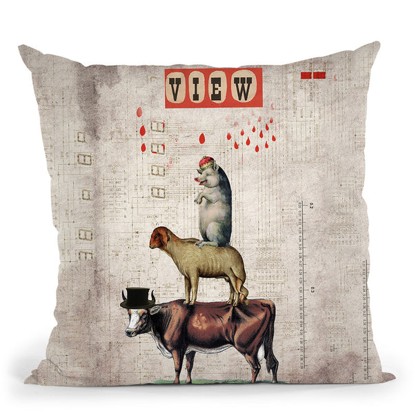 Together Throw Pillow By Elo Marc - All About Vibe
