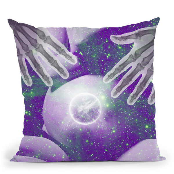 Dna Throw Pillow By Elo Marc - All About Vibe