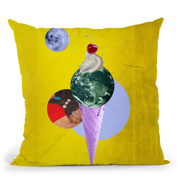 Earthcone Throw Pillow By Elo Marc - All About Vibe