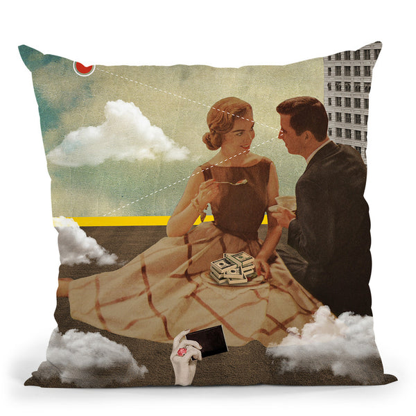 All Eyes On Me Throw Pillow By Elo Marc - All About Vibe