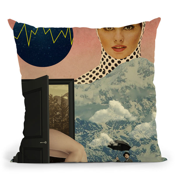 Beyond The Unknown Throw Pillow By Elo Marc - All About Vibe