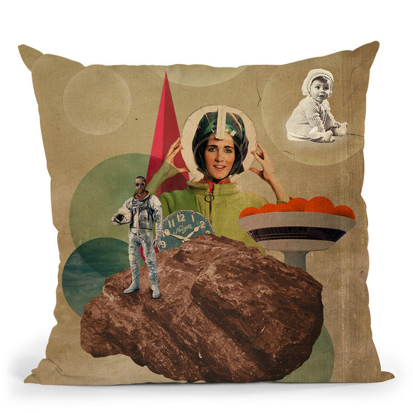 Origin Throw Pillow By Elo Marc - All About Vibe