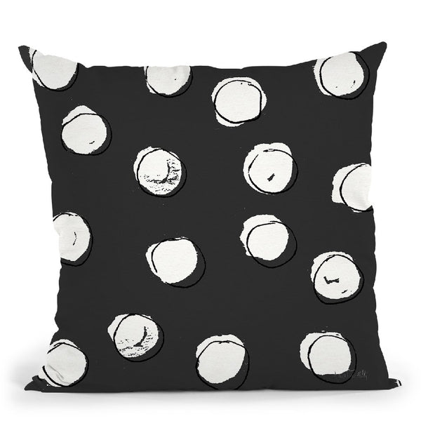 Chic Accents Pattern Viif Throw Pillow By Anne Travoletti