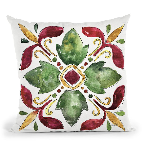 Oaked And Aged Pattern Vi Throw Pillow By Anne Travoletti