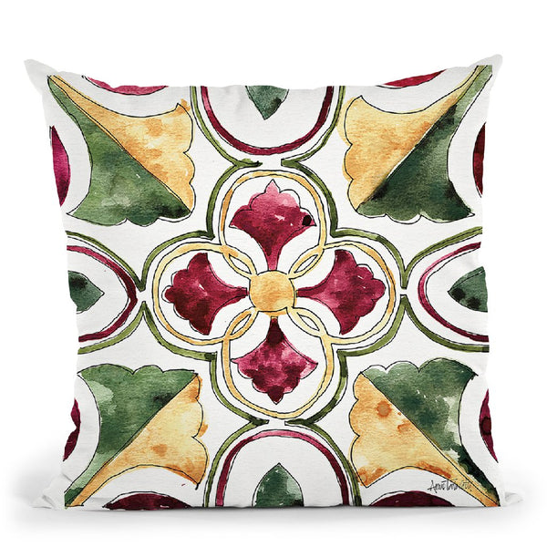 Oaked And Aged Pattern Vii Throw Pillow By Anne Travoletti