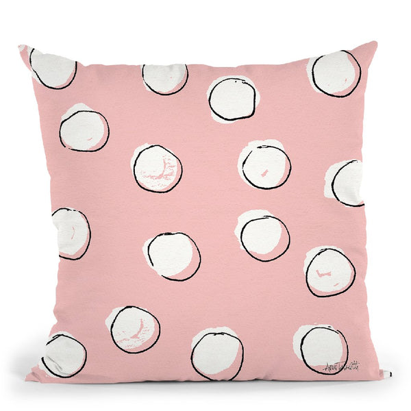 Chic Accents Pattern Viib Throw Pillow By Anne Travoletti