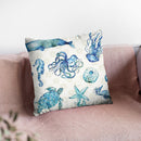Deep Sea Step 01A Throw Pillow By Anne Travoletti