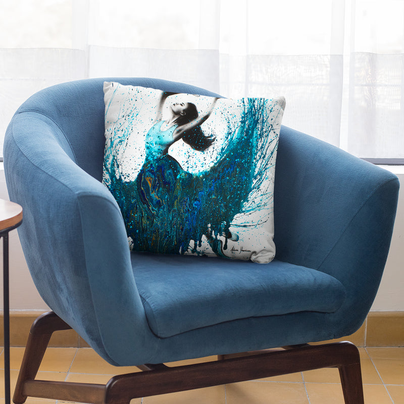Ocean Gem Dance Throw Pillow By Ashvin Harrison