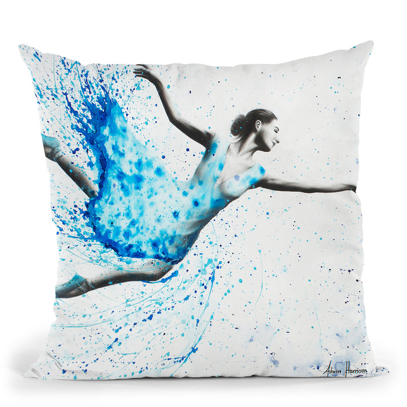 One Day Together-V1 Throw Pillow By Ashvin Harrison