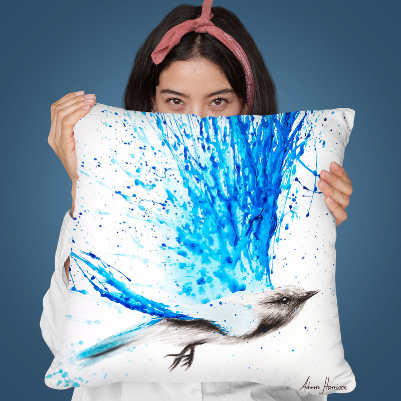 Raining Happiness Throw Pillow By Ashvin Harrison