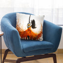 Rusty Desert Dance Throw Pillow By Ashvin Harrison