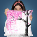 Secret Blossom Throw Pillow By Ashvin Harrison