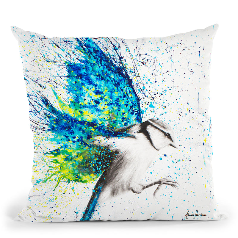 Summer Wings Throw Pillow By Ashvin Harrison