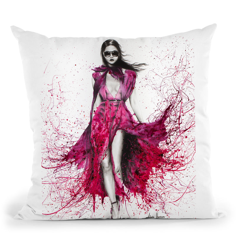Autumn Rose Throw Pillow By Ashvin Harrison