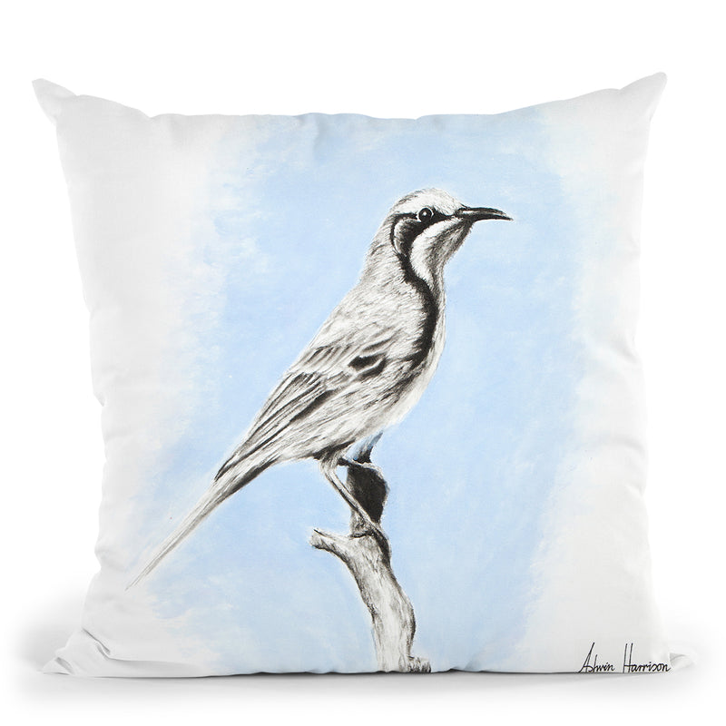 Tawny Crowned Throw Pillow By Ashvin Harrison