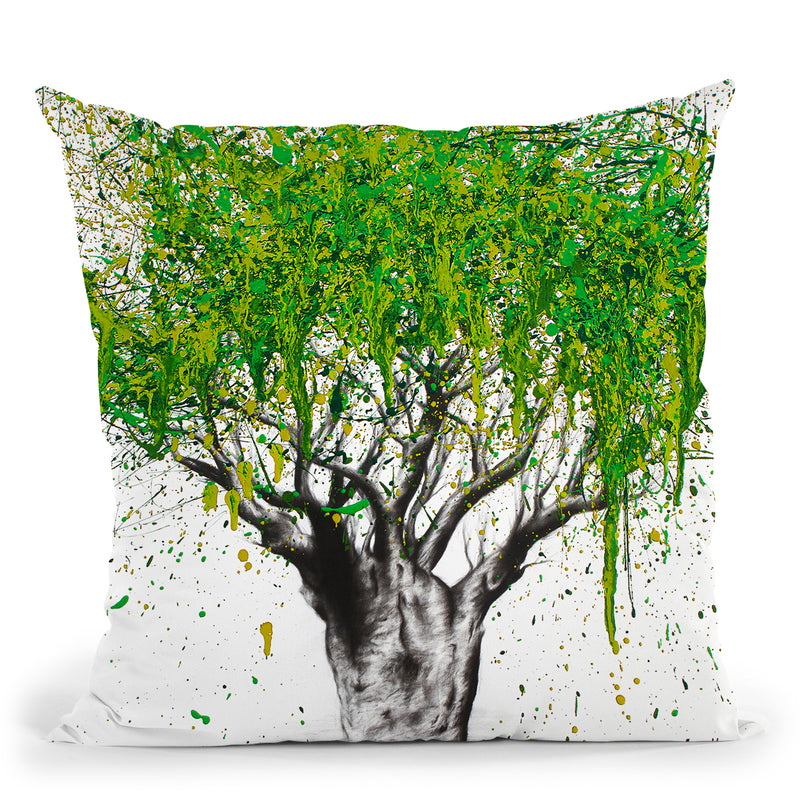 The Secret Boab Throw Pillow By Ashvin Harrison