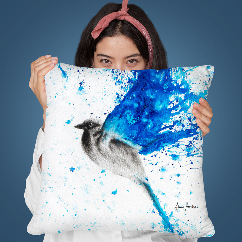 Water Rise Throw Pillow By Ashvin Harrison