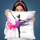 You Thought About Me Throw Pillow By Ashvin Harrison