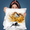 Frilled Throw Pillow By Ashvin Harrison