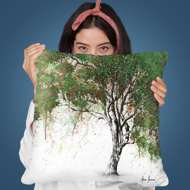 Guiding Gum Tree Throw Pillow By Ashvin Harrison