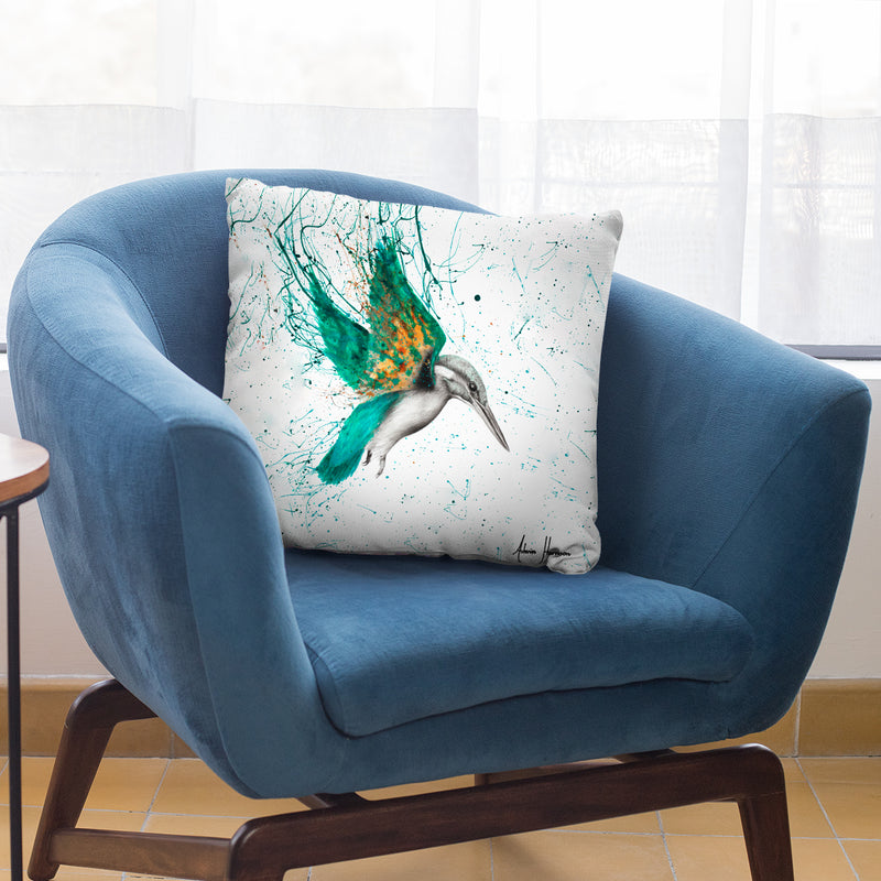 Kingfisher Skies Throw Pillow By Ashvin Harrison
