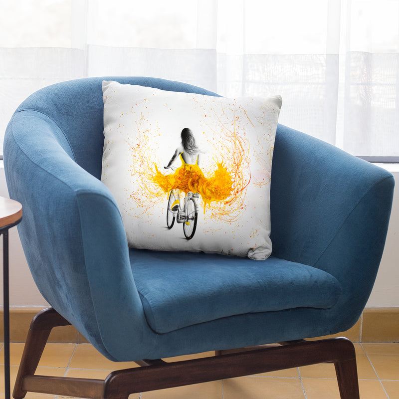 Mindful Throw Pillow By Ashvin Harrison