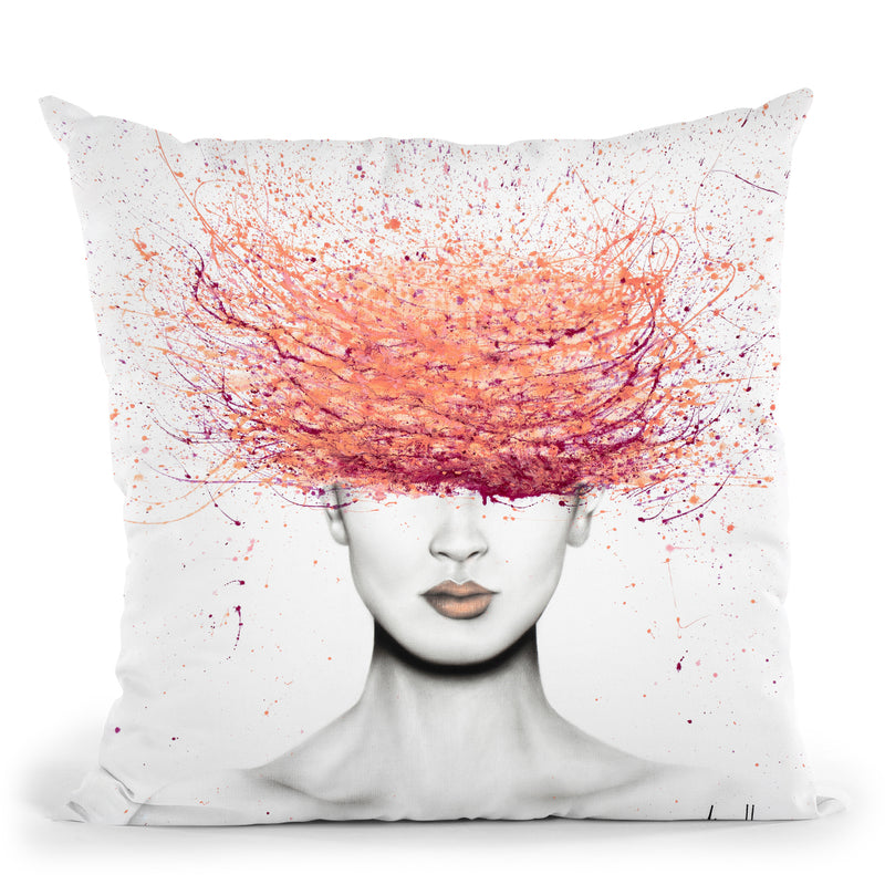 My Modern Mind Throw Pillow By Ashvin Harrison