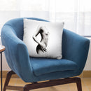 Nude Woman Charcoal Study 70 Throw Pillow By Ashvin Harrison